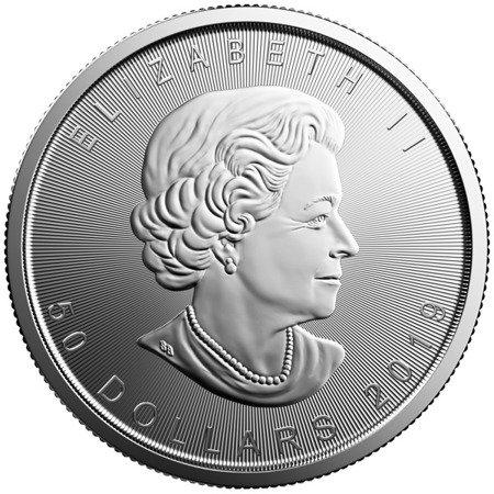 Moneta Platyny Liść Klonu 1 uncja