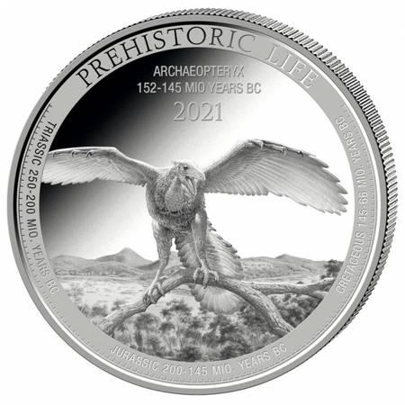 Srebrna Moneta Archaeopteryx 1 uncja 24h