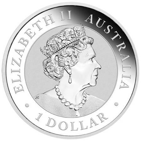 Srebrna Moneta Australian Brumby 1 uncja LIMITOWANA