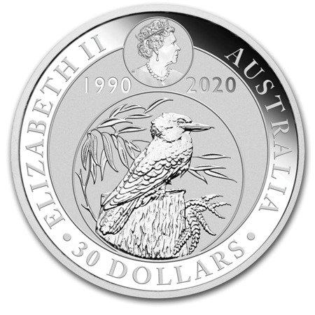 Srebrna Moneta Australijska Kookaburra 1000g (1kg)