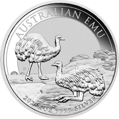 Srebrna Moneta Australijski Emu 1 uncja LIMITOWANA