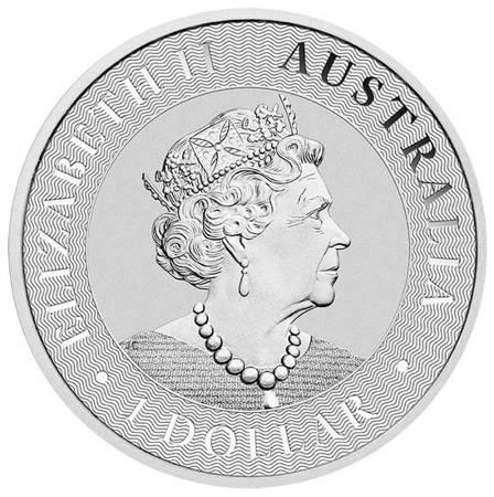 Srebrna Moneta Australijski Kangur 1 uncja 24h