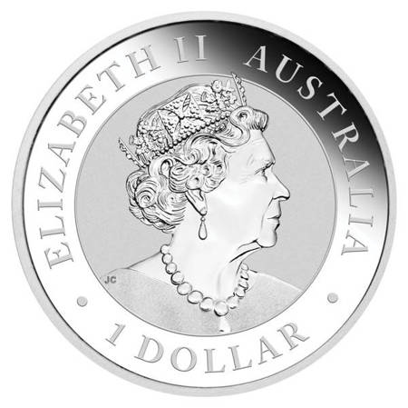 Srebrna Moneta Australijski Orzeł / Wedge-Tailed 1 uncja 24h