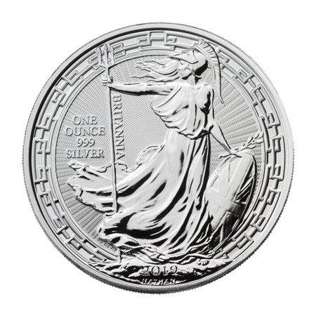 Srebrna Moneta Britannia Oriental Border 1 uncja 24h