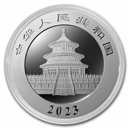 Srebrna Moneta Chińska Panda 30g 2018r 24h