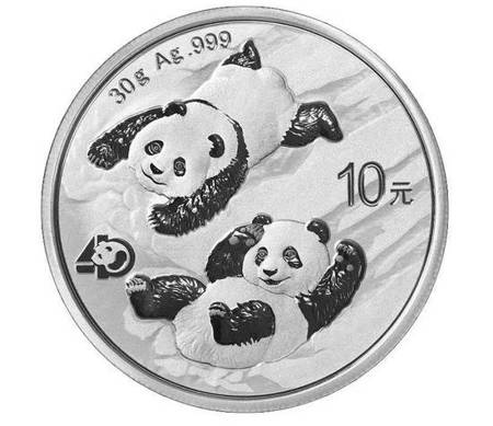 Srebrna Moneta Chińska Panda 30g