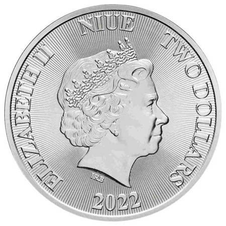 Srebrna Moneta Drzewo Życia 1 uncja 2018r 24h