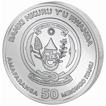 Srebrna Moneta Endeavour - Nautical Ounce 1 uncja 2018r 24h