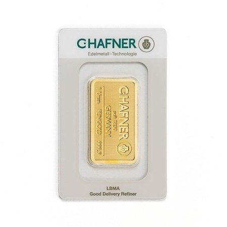 Sztabka Złota CertiCard 1 uncja