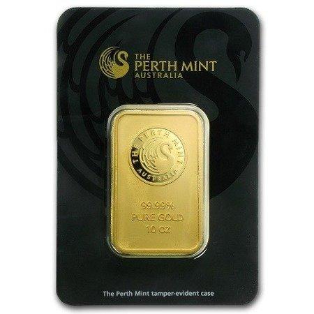 Sztabka Złota CertiCard 10 uncji