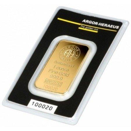 Sztabka Złota CertiPack 1 uncja 24h