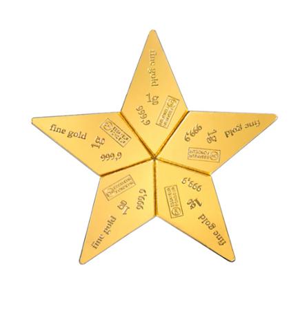 Sztabka Złota CombiBar Star 5x1g