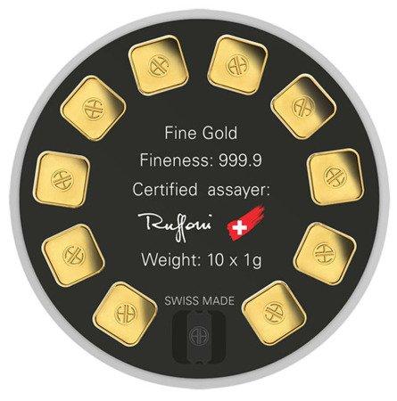 Sztabka Złota Gold Seed 10x1g 24h