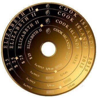 Sztabko-Moneta Złota Armillary Coin 1 uncja 24h
