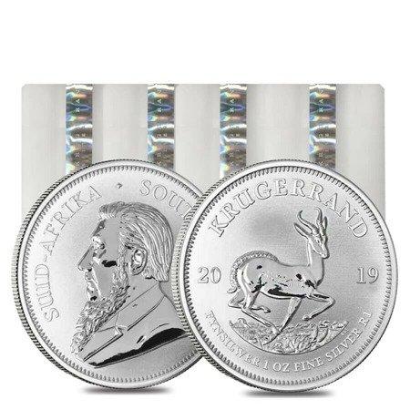 Zestaw Srebrna Moneta Krugerrand 100x1oz 24h