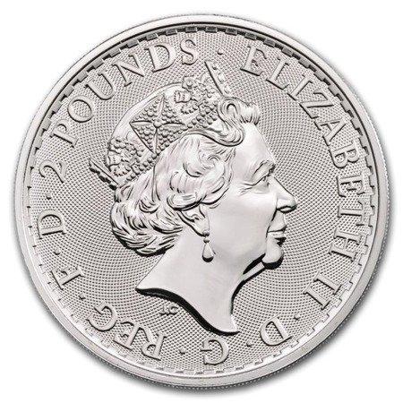Zestaw Srebrna moneta Britannia 25x1oz