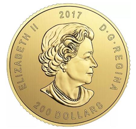 Zew Natury Jeleń Złota Moneta 1 uncja