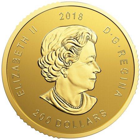 Zew Natury Orzeł Złota Moneta 1 uncja