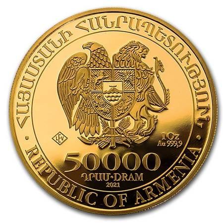 Złota Moneta Arka Noego 1 uncja LIMITOWANA