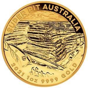 Złota Moneta Australia Super Pit 1 uncja 24h