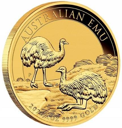 Złota Moneta Australijski Emu 1 uncja 24h