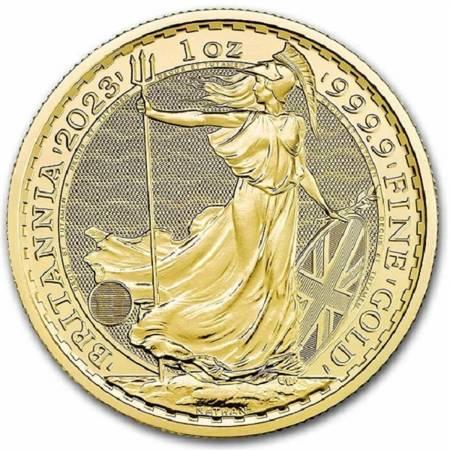 Złota Moneta Britannia 1 uncja 2021r - 24h
