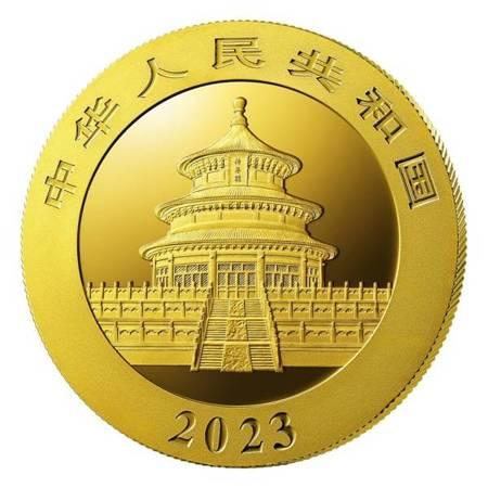 Złota Moneta Chińska Panda 3g 24h