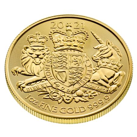 Złota Moneta Królewskie Herby 1 uncja 24h