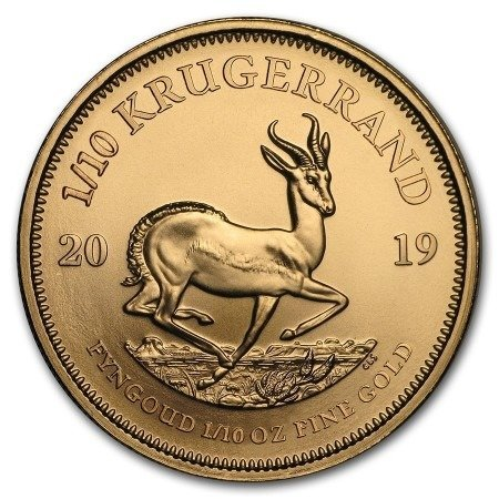 Złota Moneta Krugerrand 1/10 uncji