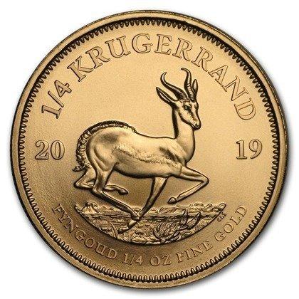 Złota Moneta Krugerrand 1/4 uncji 24h