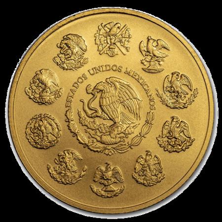 Złota Moneta Meksykańska Bogini Wolności 1/10 uncji 24h