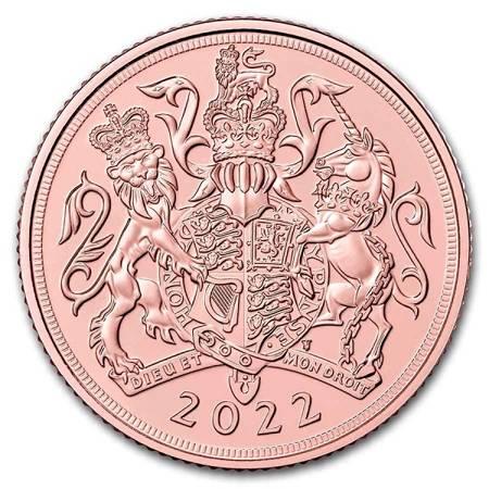 Złota Moneta Suweren Brytyjski 7.32g
