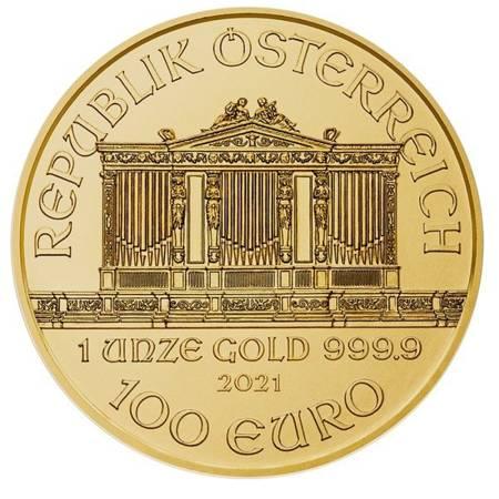 Złota Moneta Wiedeński Filharmonik 1 uncja 24h