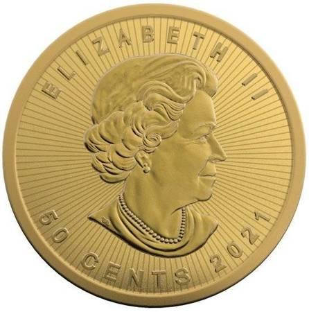 Złoty Kanadyjski Liść Klonowy Maplegram 25x1g 2020 24h