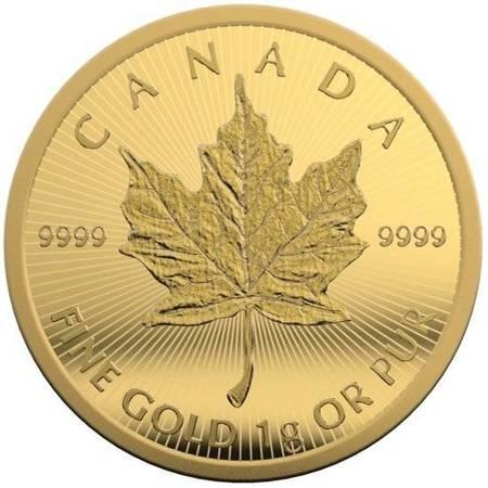 Złoty Kanadyjski Liść Klonowy Maplegram 25x1g
